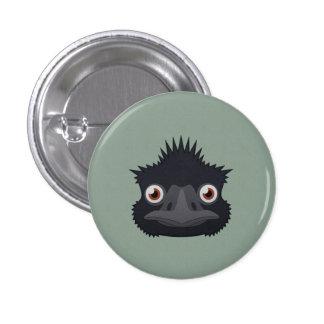 Paper Emu Pinback Buttons
