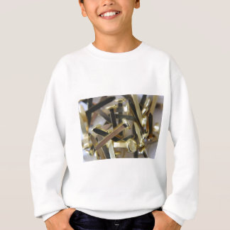 Paper fasteners office stationary sweatshirt