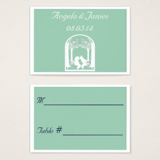 Paper Foxes in Hemlock Business Card