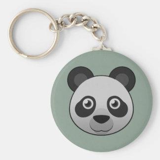 Paper Giant Panda Keychain
