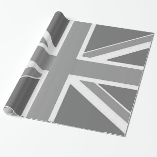 Paper gift frozen Flag the U.K. Wrapping Paper