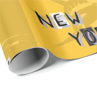Paper gift frozen NYC Wrapping Paper
