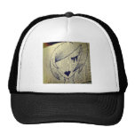 paper girl trucker hat