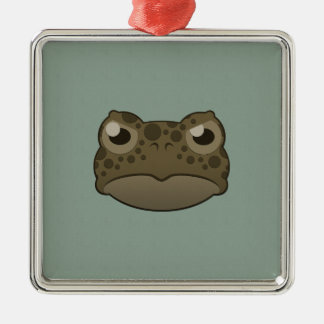 Paper Green Toad Christmas Tree Ornaments