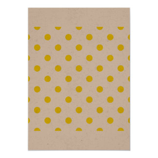 Paper greeting with Dots Card