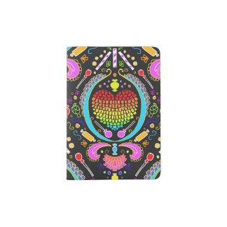 paper hearts pinata damask passport cover