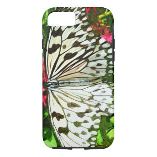 Paper Kite Butterfly Abstract Impressionism iPhone 7 Case
