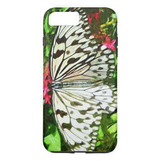 Paper Kite Butterfly Abstract Impressionism iPhone 7 Plus Case