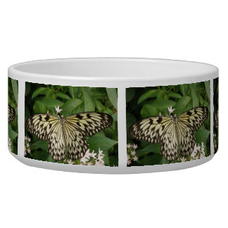 Paper Kite Butterfly Dog Bowl