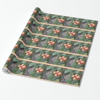 Paper Kite Butterfly Wrapping Paper