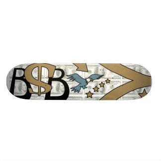 Paper Machine/Brown/Grey Skate Deck