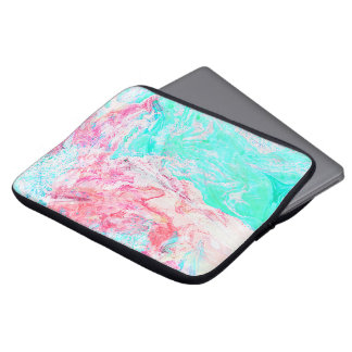 paper marble texture laptop sleeves 13inch