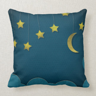 Paper Moon and Stars Cushion