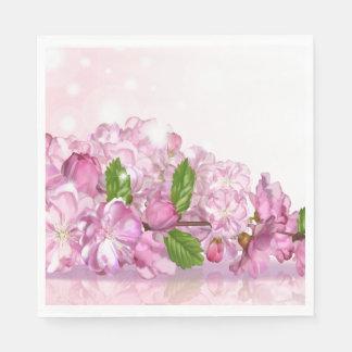 Paper Napkins-Cherry Blossoms Disposable Serviette