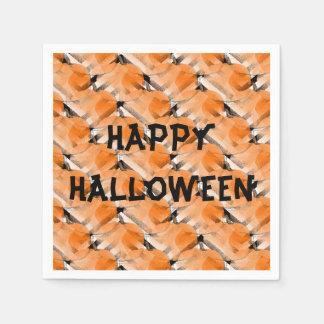 Paper napkins cocktail Halloween Pumpkin