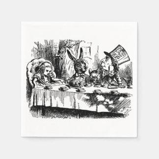 Paper Napkins illustration Alice in Wonderland Disposable Napkin