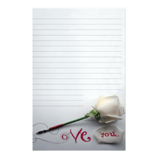 """Paper of letter """"Love You """""""