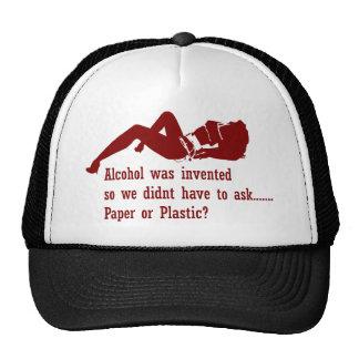 Paper or Plastic? Trucker Hats