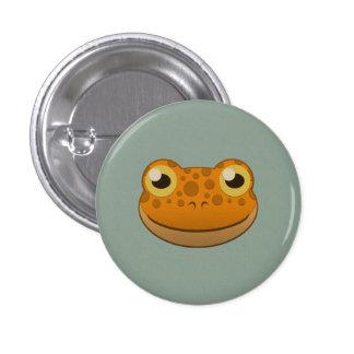 Paper Orange Frog Pins