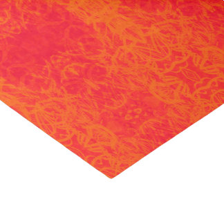 paper orange muslin