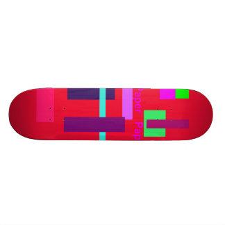 Paper Paper Cardinal Skate Board