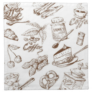 Paper pattern napkin