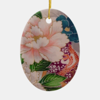Paper Peonies from Japan Christmas Ornament