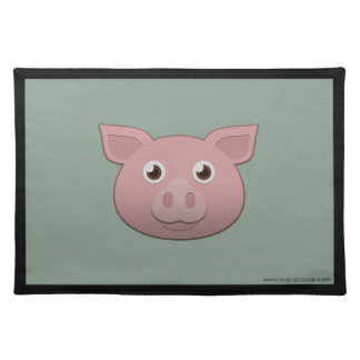 Paper Pig Placemats