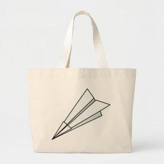 Paper Plane Large Tote Bag