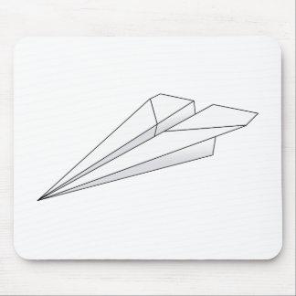 Paper Plane Mouse Mat