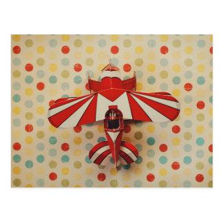 paper plane postcard