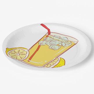 Paper plate Lemonade 9 Inch Paper Plate
