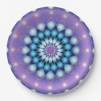 Paper Plate Mandala