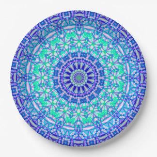Paper Plate Tribal Mandala G389
