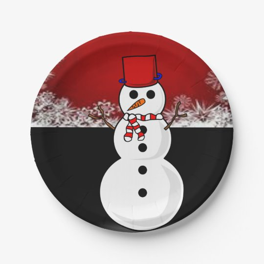 Paper plates Christmas