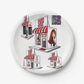 Paper plates Salon
