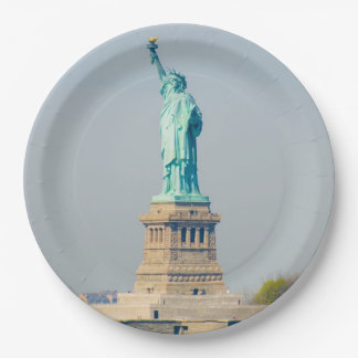 Paper Plates - Statue of Liberty, New York City