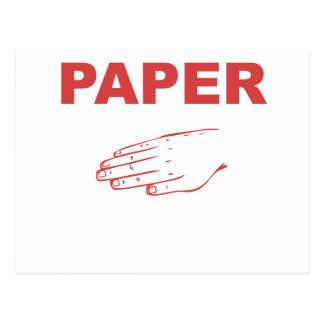 Paper Postcard