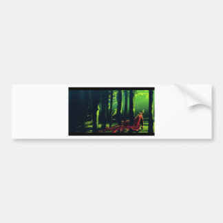 Paper products bumper sticker