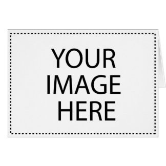 Paper Products Image Template Greeting Card