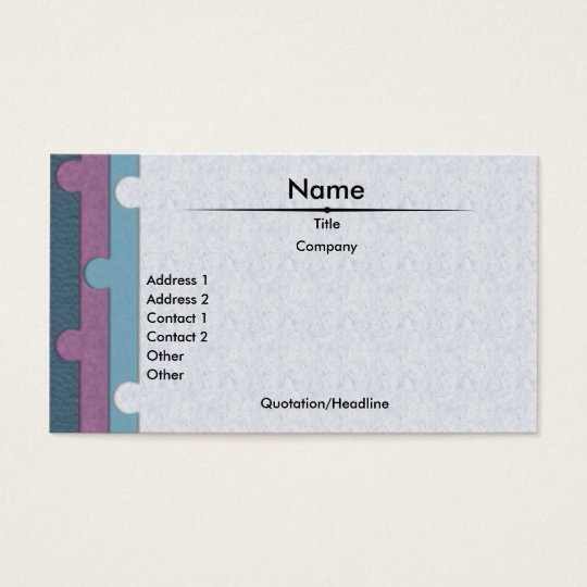 Paper Punch Business Card
