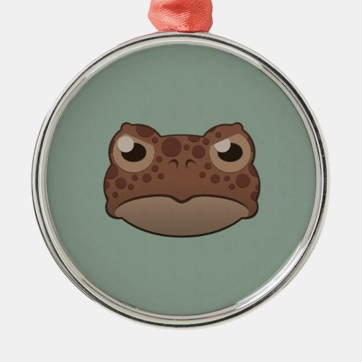 Paper Red Toad Christmas Tree Ornaments