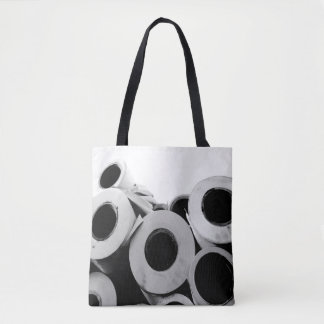 Paper Rolls Cool Unique Tote Bag