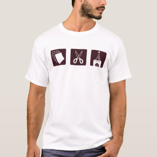 Paper Scissors Glue T-Shirt