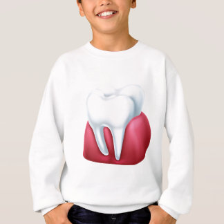 Paper Scroll Background Sweatshirt