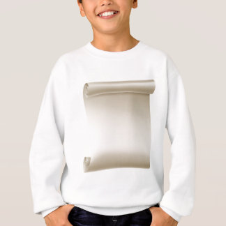 Paper Scroll Background Sweatshirt