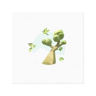 Paper Skyland Canvas Prints