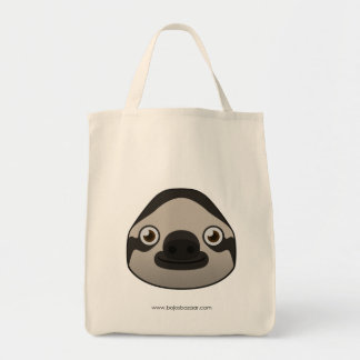 Paper Sloth Tote Bag