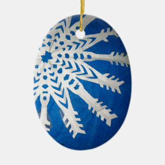Paper Snowflake Christmas Ornaments