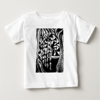 paper standing stylish baby T-Shirt